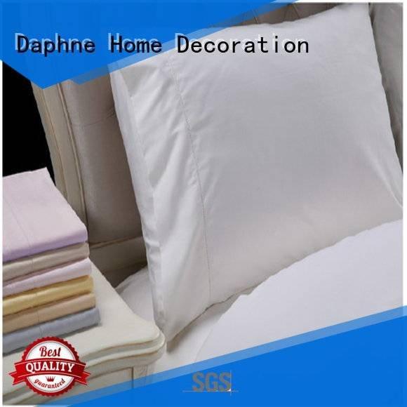 linen bedding sets longstaple Daphne Brand Solid Color Bedding