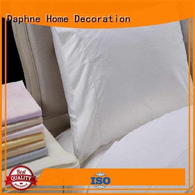 percale Solid Color Bedding Daphne linen bedding sets