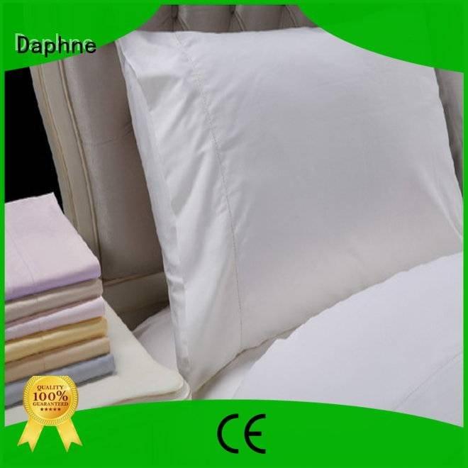 Daphne Brand longstaple bed shee Solid Color Bedding