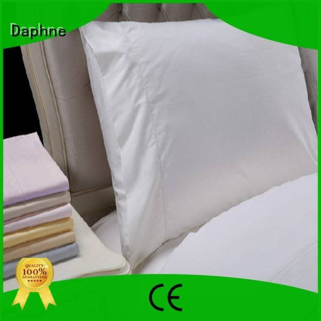 Daphne Brand longstaple bed shee Solid Color Bedding