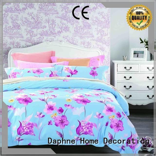 100 cotton bedding sets vivid embroidery Warranty Daphne