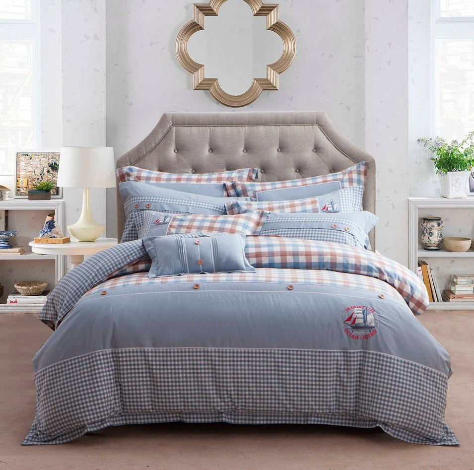 Lovely Joint Cotton Bedding Set   #6822