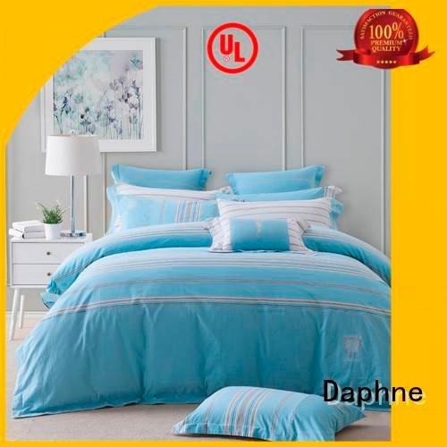 longstaple brushed pattern design Daphne Cotton Bedding Sets