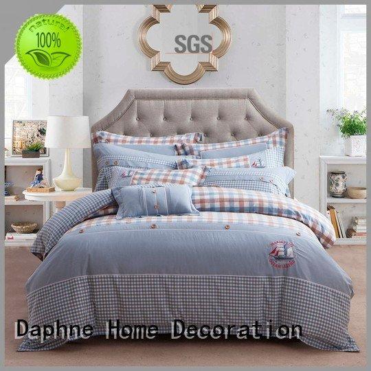 Hot 100 cotton bedding sets sheet magnolia quality Daphne Brand