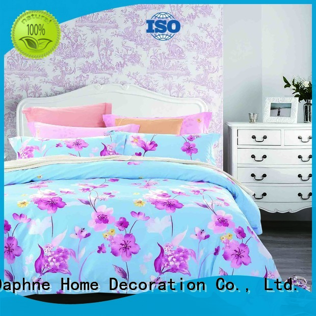 100 cotton bedding sets vividly brushed magnolia blossom Bulk Buy