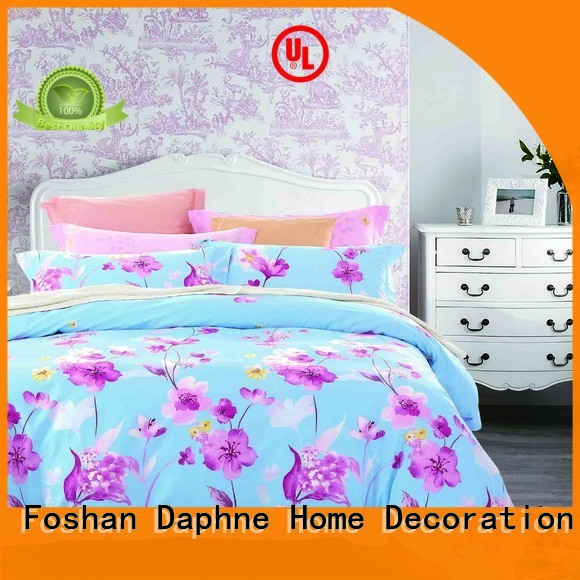 100 cotton bedding sets printed cover Cotton Bedding Sets Daphne Warranty