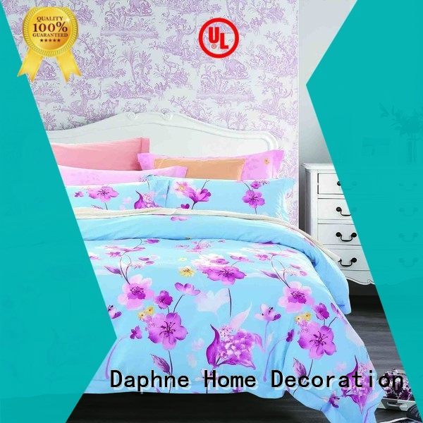 plaid comfortable Daphne Cotton Bedding Sets
