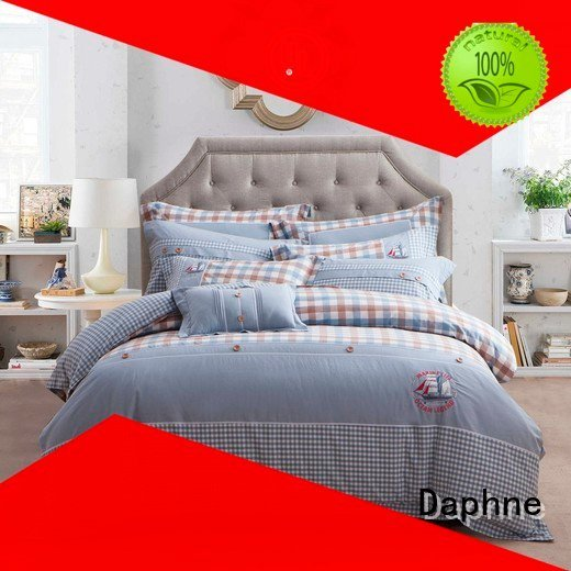 Daphne 100 cotton bedding sets pattern sophisticated designed