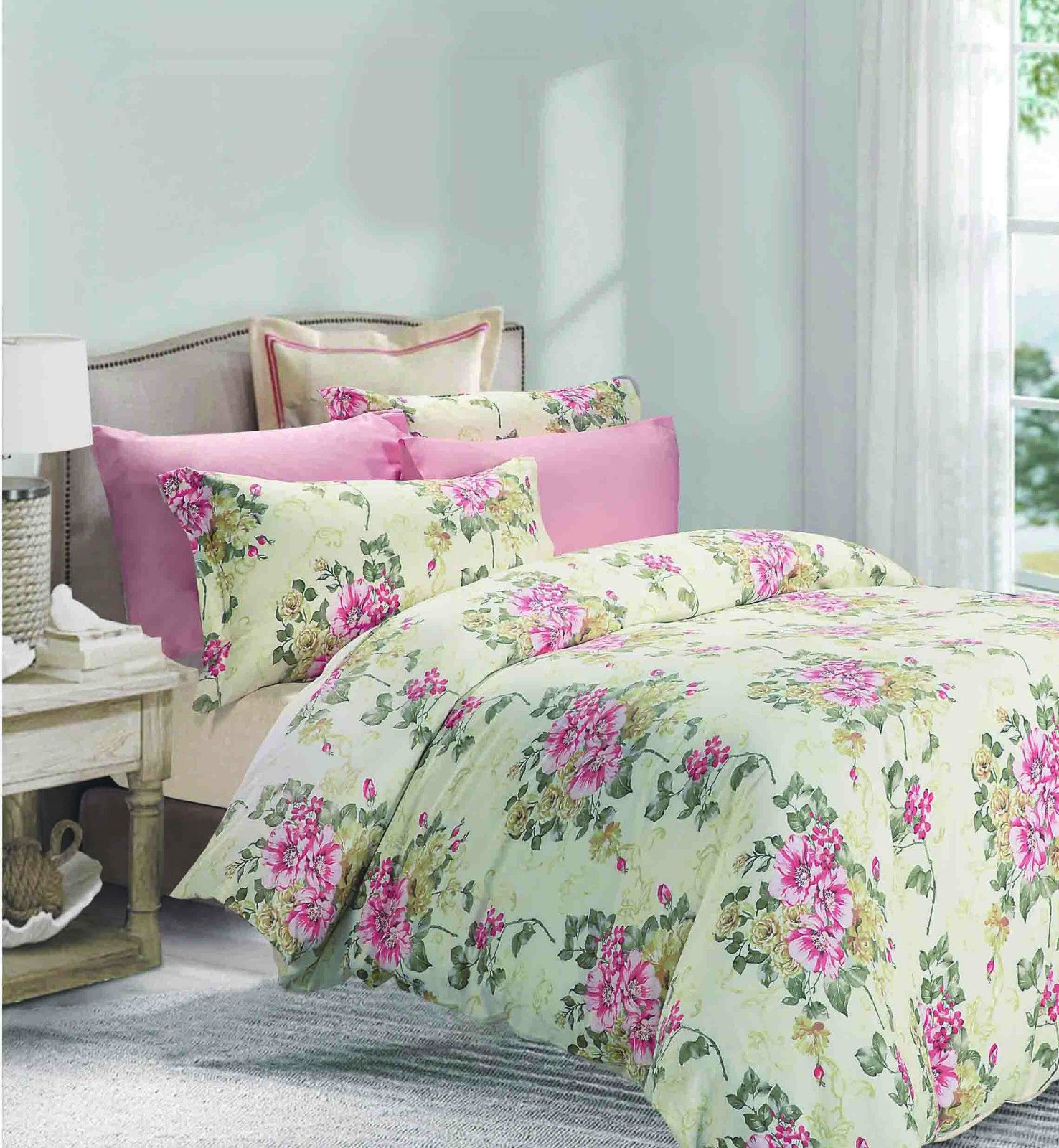 daphne magnolia printed joint Daphne 100 cotton bedding sets