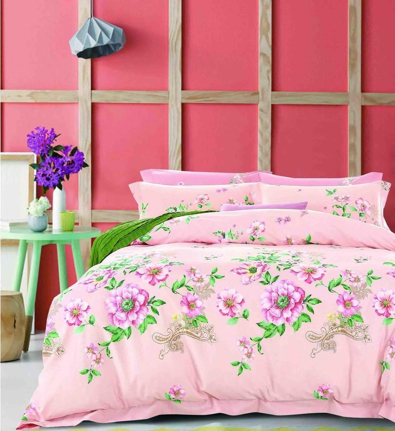 Vivid Floral Printed Bedding Set   #161444