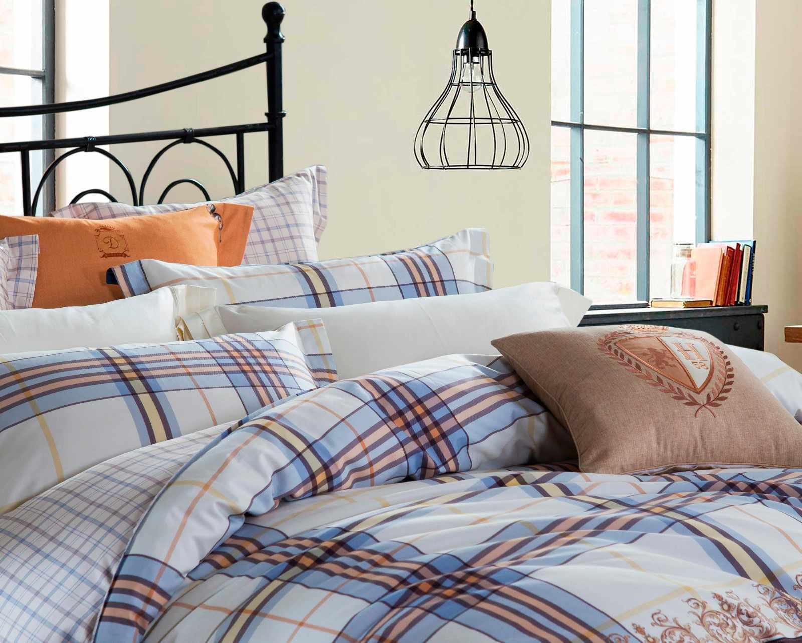 Elegant Printed Cotton Bedding Set  6835