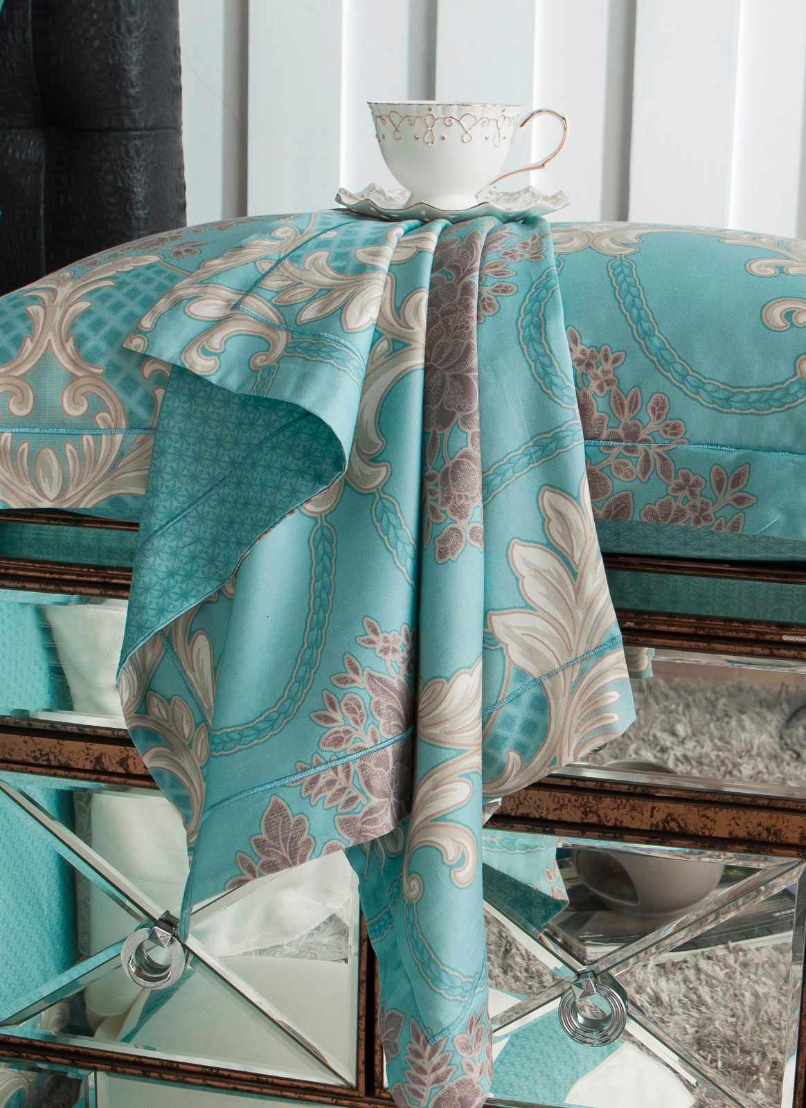 Elegant Long-staple Cotton Duvet Cover Set 6816