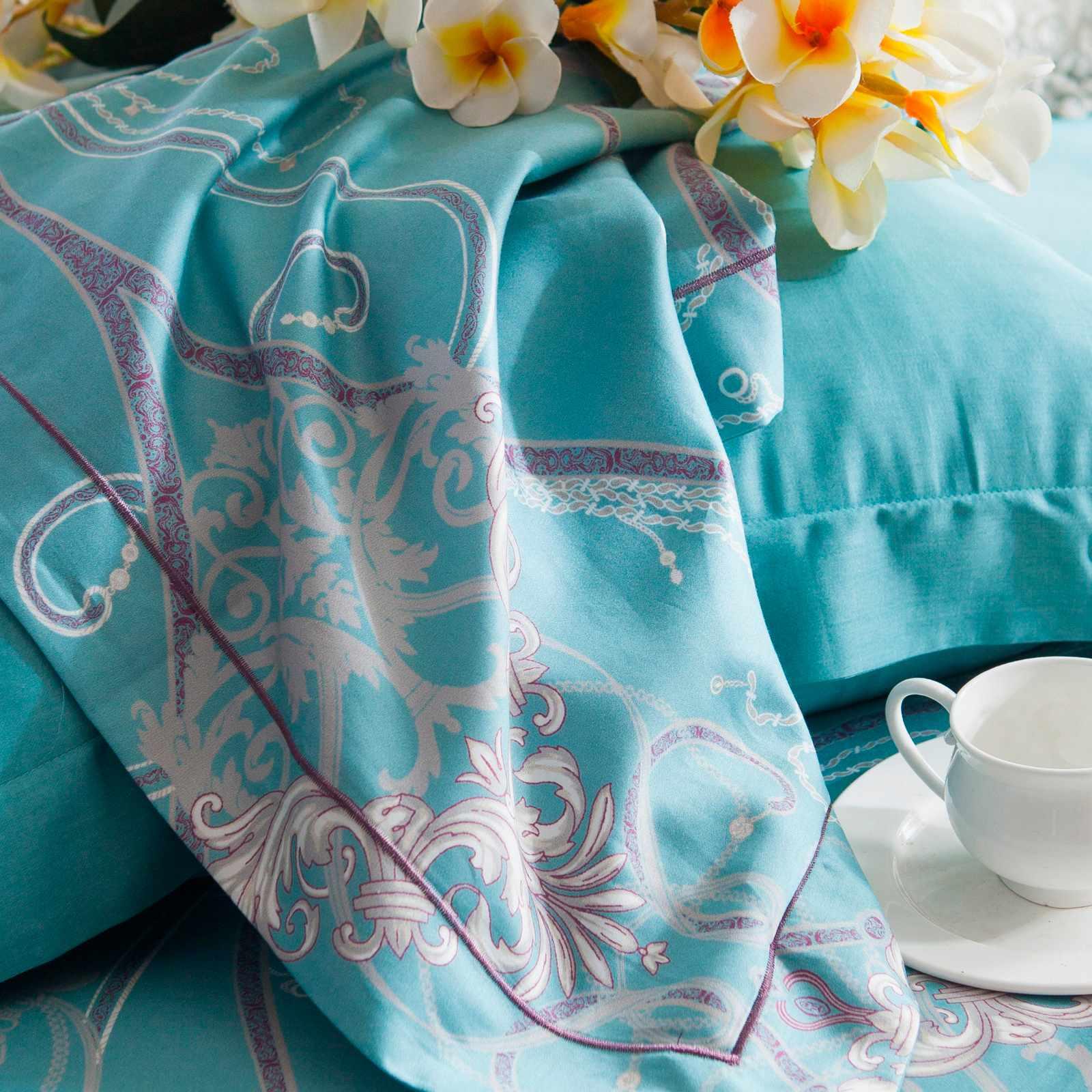 Daphne Fascinating Designed Pima Cotton Bedding  6866 100% Cotton Printed image35