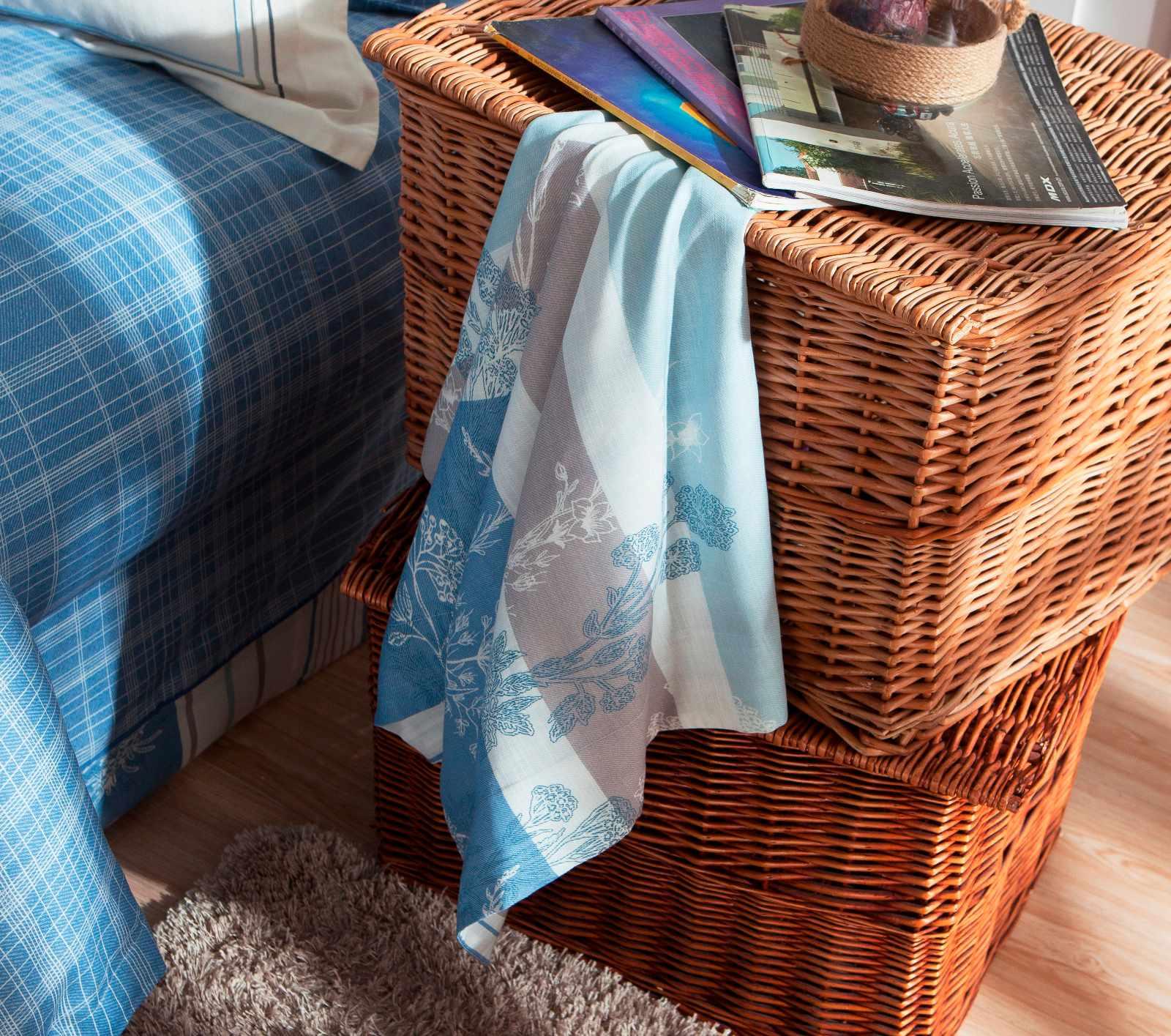 Daphne 45% Cotton 45% Lyocell 10% Linen Blended Elegant Printed Bedroom Set   #6820 Other Material Printed image33