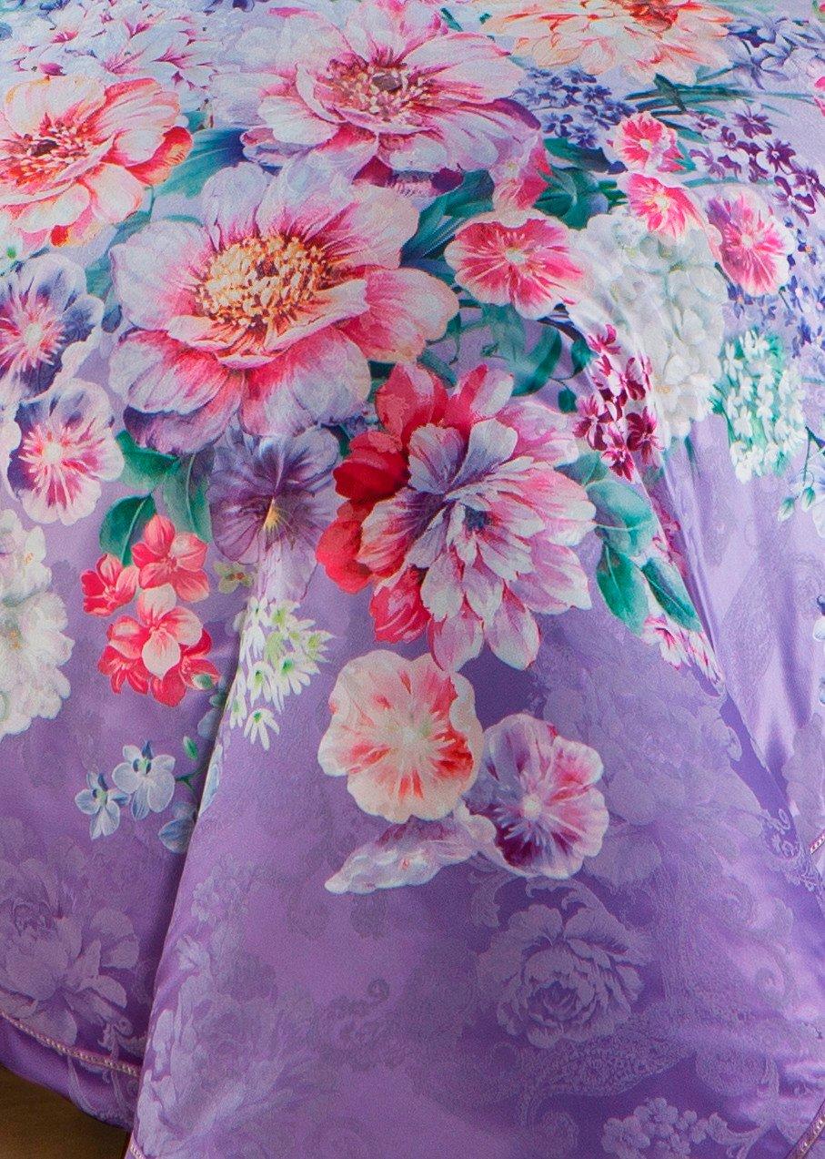 Polyester and Cotton Vividly  Jacquard Bedding Set   #6838