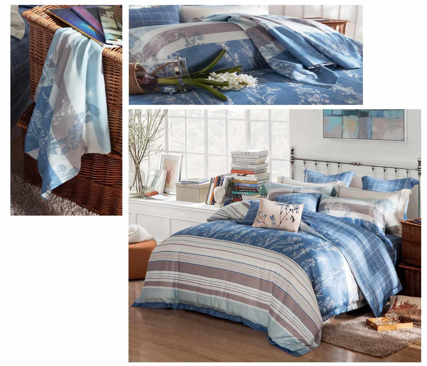 classic reactive colorful Daphne organic comforter