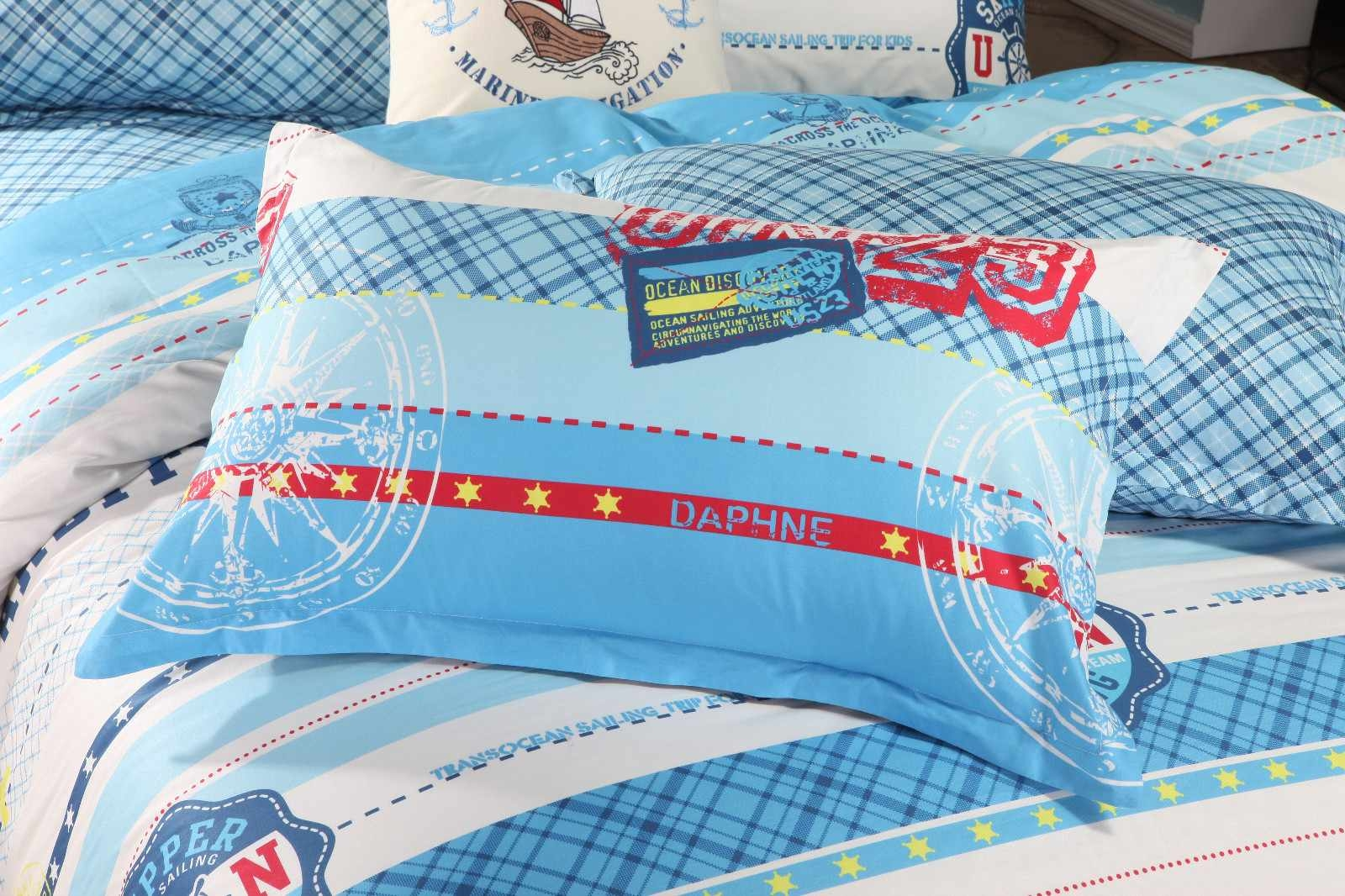 Designed Cotton Kids Duvet Cover Set   6819