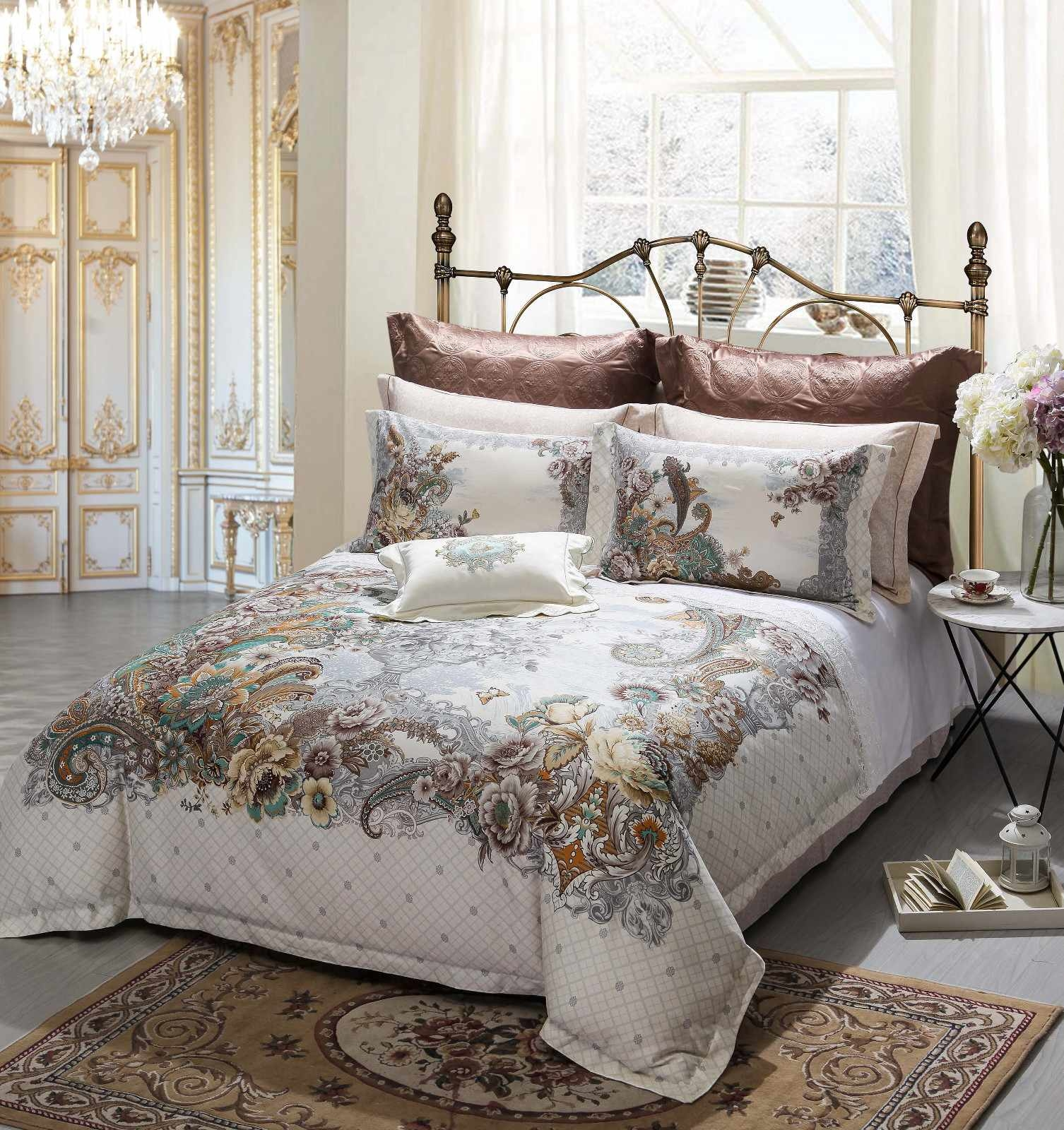 OEM 100 cotton bedding sets bed vivid sheet Cotton Bedding Sets
