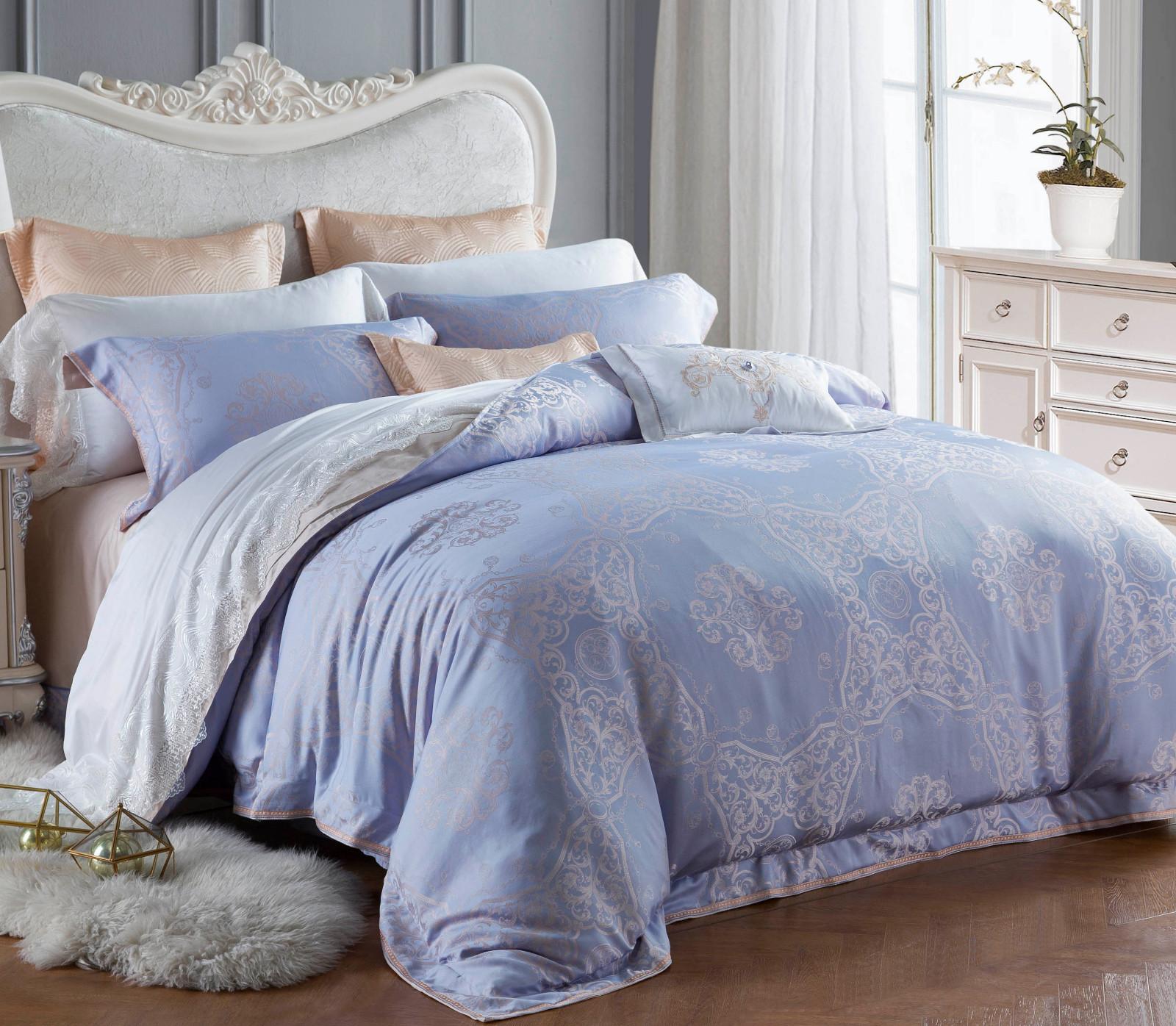 luxury stunning Daphne Brand jacquard duvet cover king