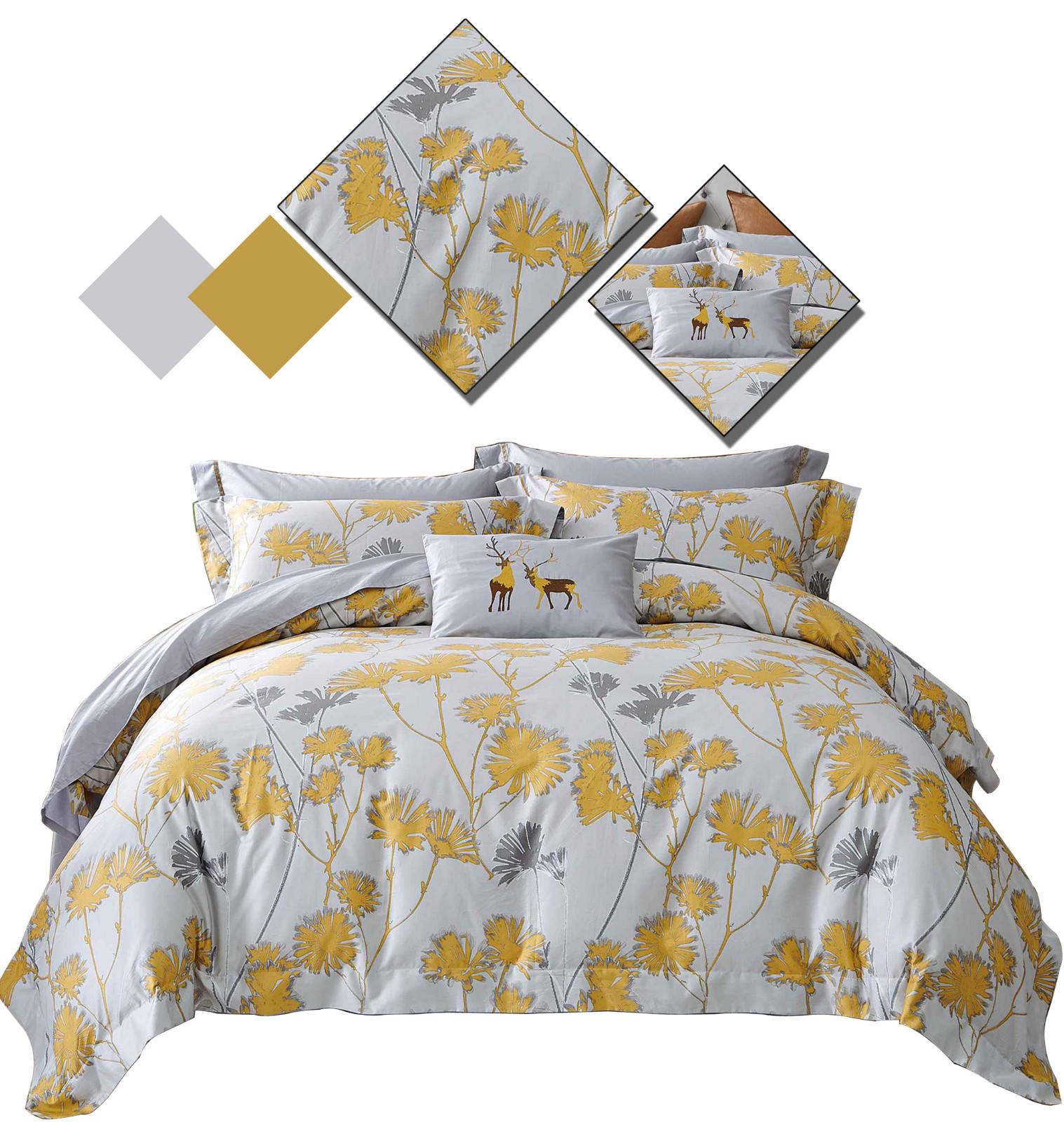 printed designed patterns 100 cotton bedding sets Daphne manufacture