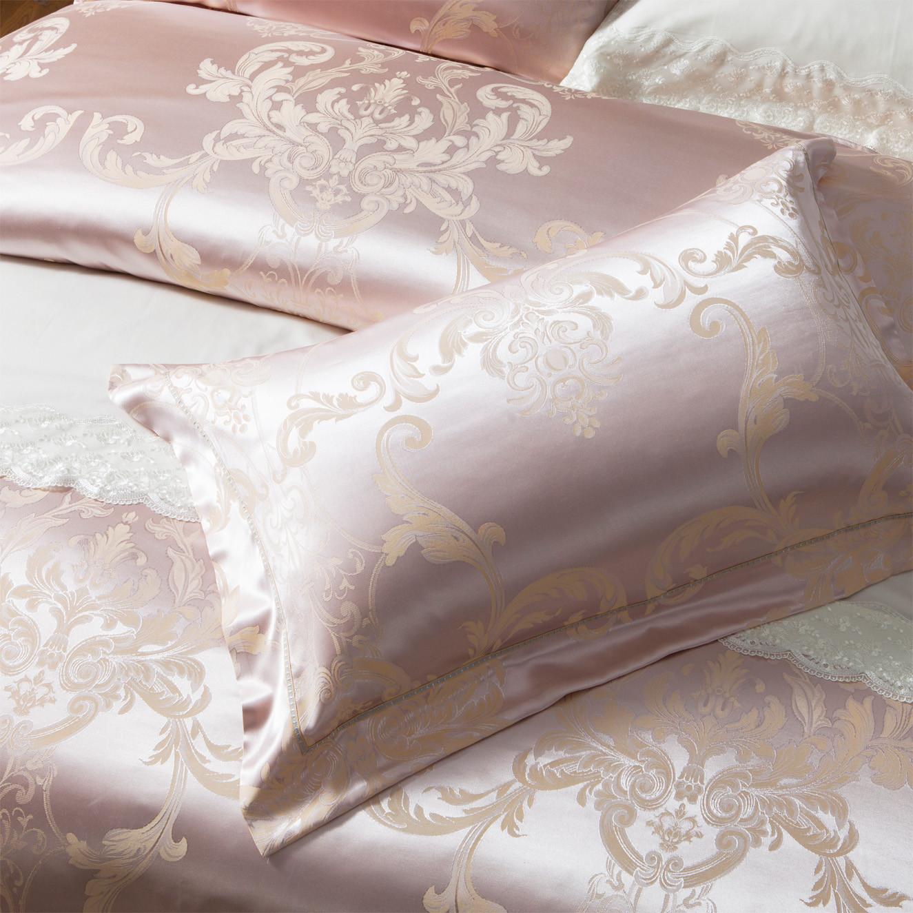 desings duvet jacquard duvet cover king silk Daphne company