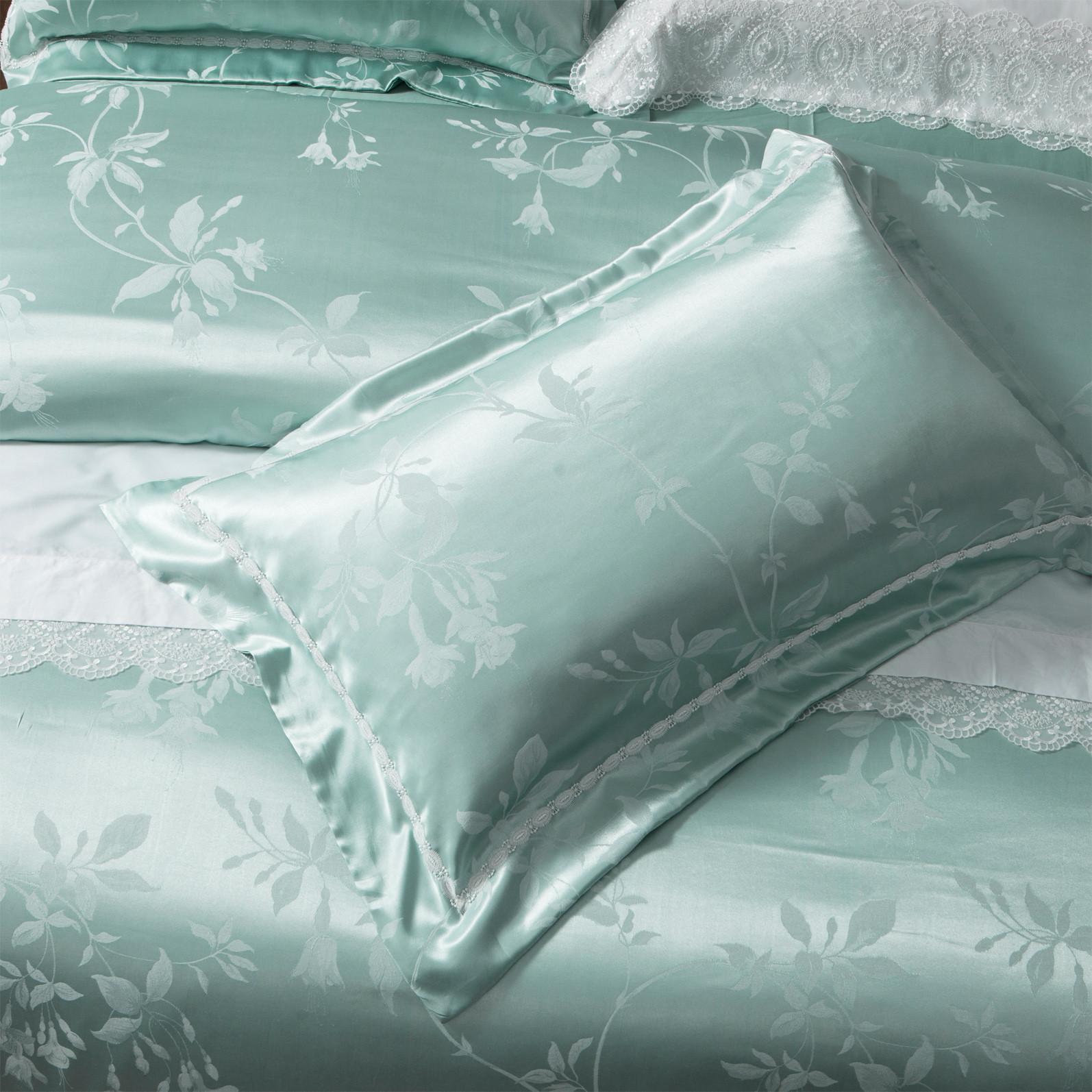 Hot style jacquard duvet cover king flat Daphne Brand