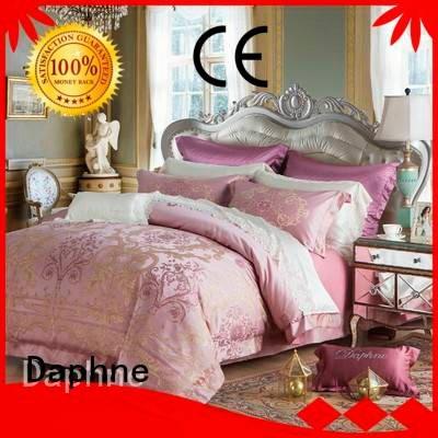 Daphne jacquard duvet cover king style cotton bedroom