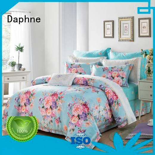 Daphne jacquard duvet cover king silk sets rayon modern