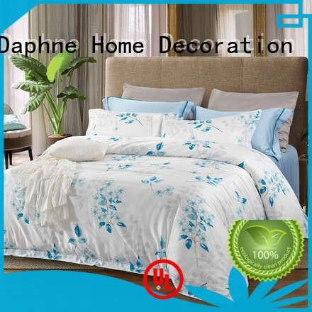 cover cotton duvet Daphne Brand queen size bamboo sheets manufacture