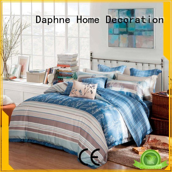 classic reactive colorful Daphne organic comforter