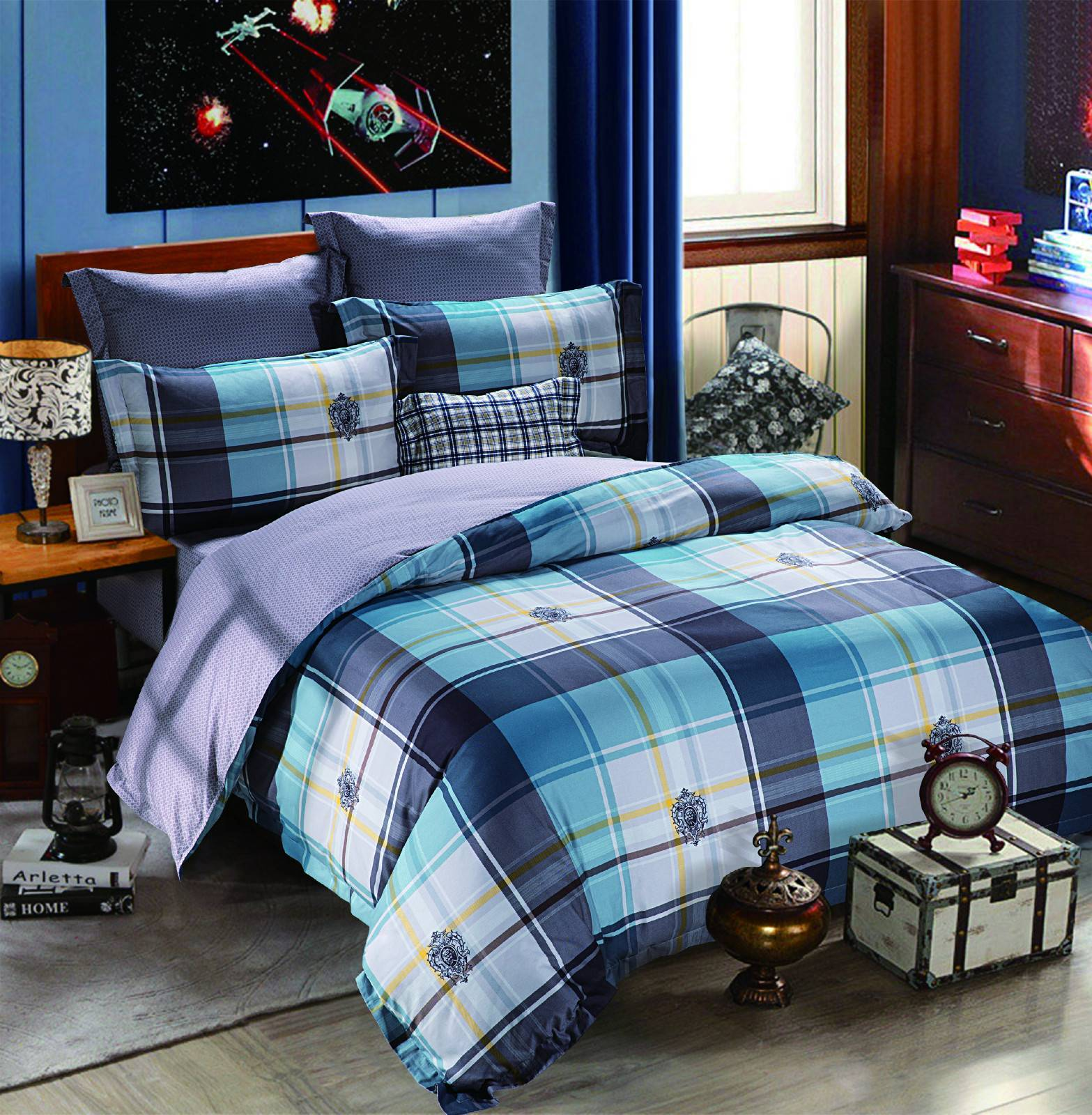 Comfortable Long-staple Cotton Bedding 6842