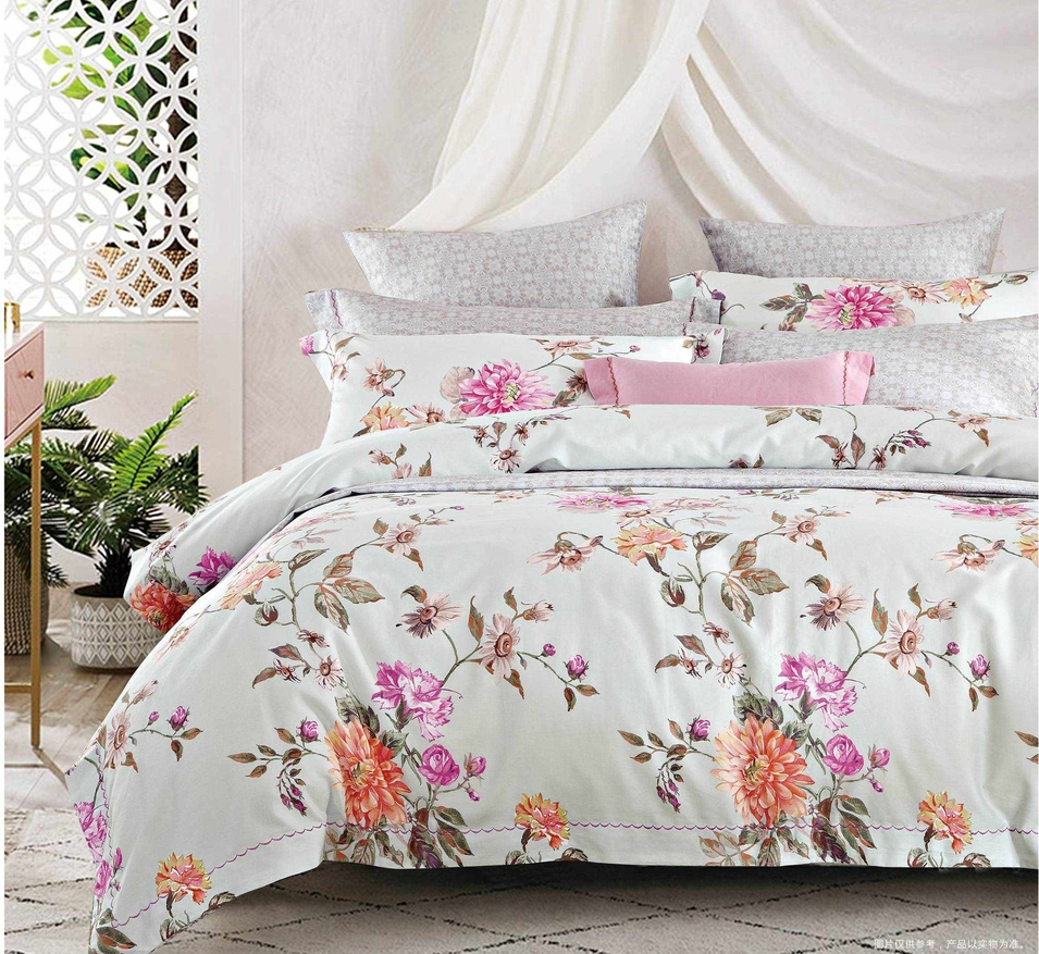 Pure Cotton Floral Patterns Sheet Set