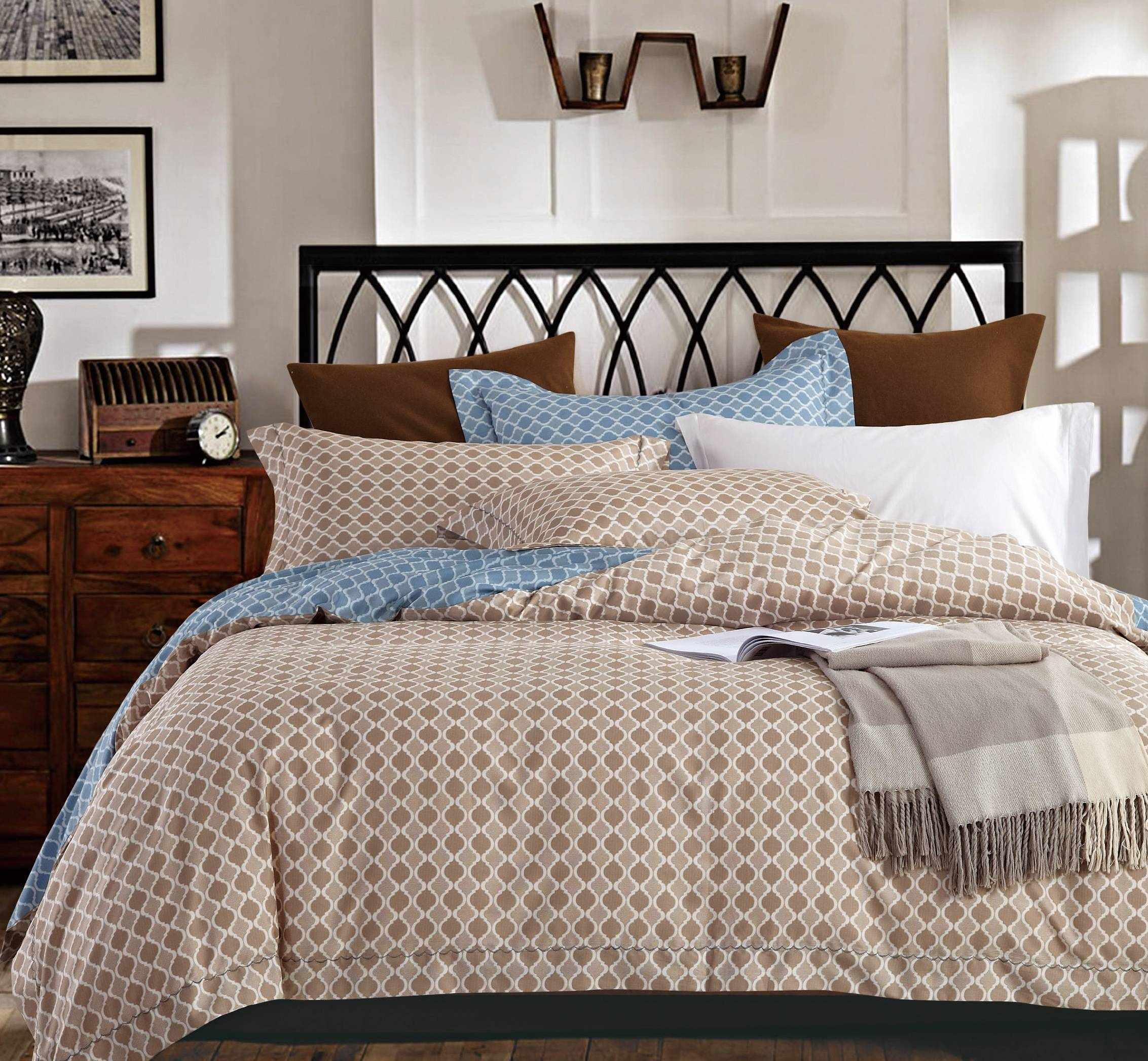 Simple Printed Long-staple Cotton Bedding