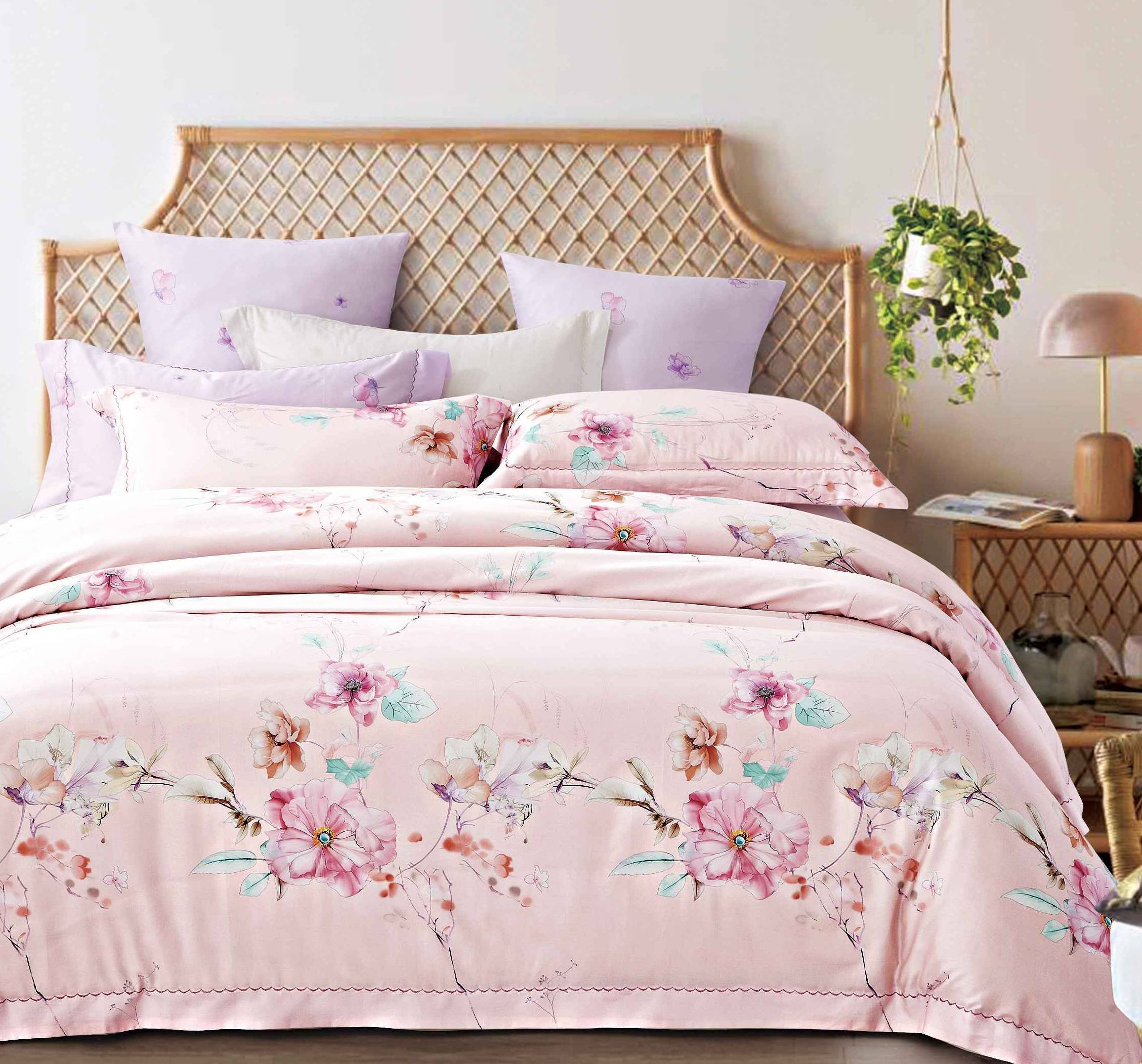 Flower Patterns Bedding Set Long-staple Cotton Bright Color 171469
