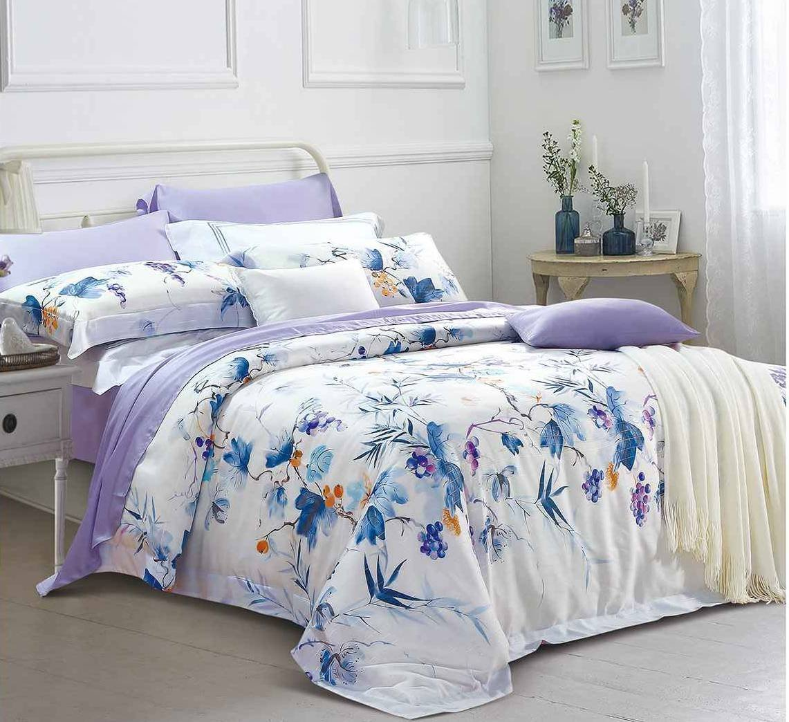 Lyocell High Quality Bedding Grapes Pattern 171257