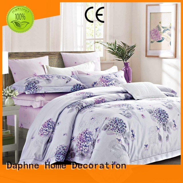 Daphne Brand blossom 100 cotton bedding sets cover supplier