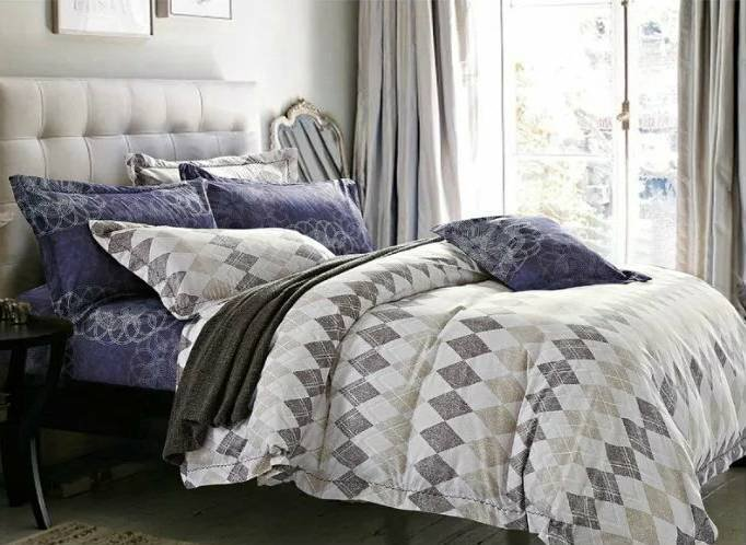 Soft And Comfortable Print Bed Sheet Set psd35