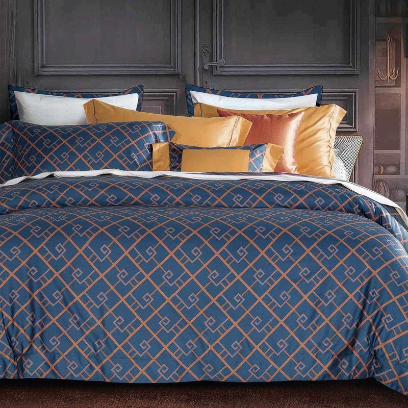 Soft Comfortable Duvet Cover Set Long-staple Cotton 171102