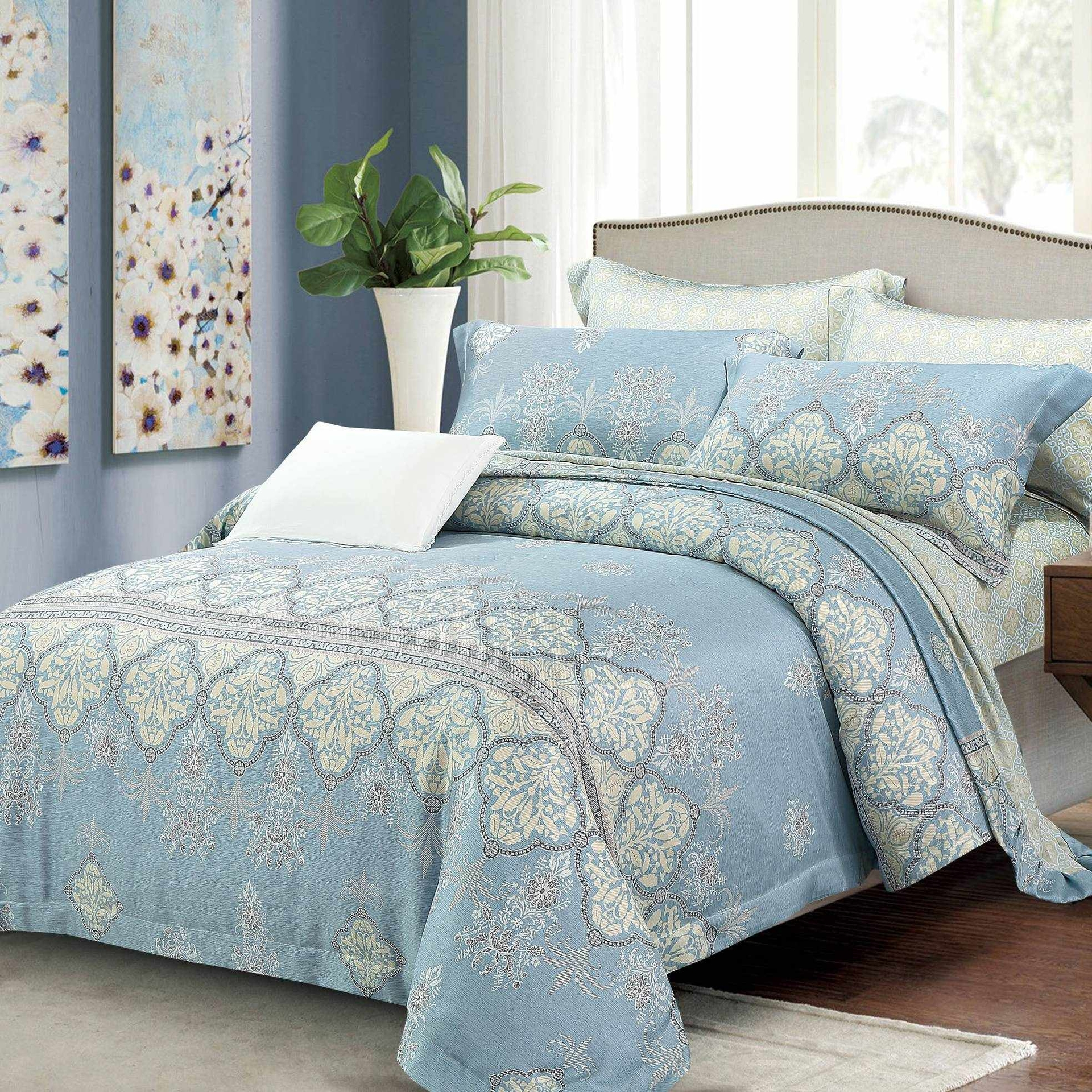 100% 40S Lyocell Designed Bedding Product 151582