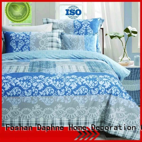 linen embroidery Daphne Cotton Bedding Sets