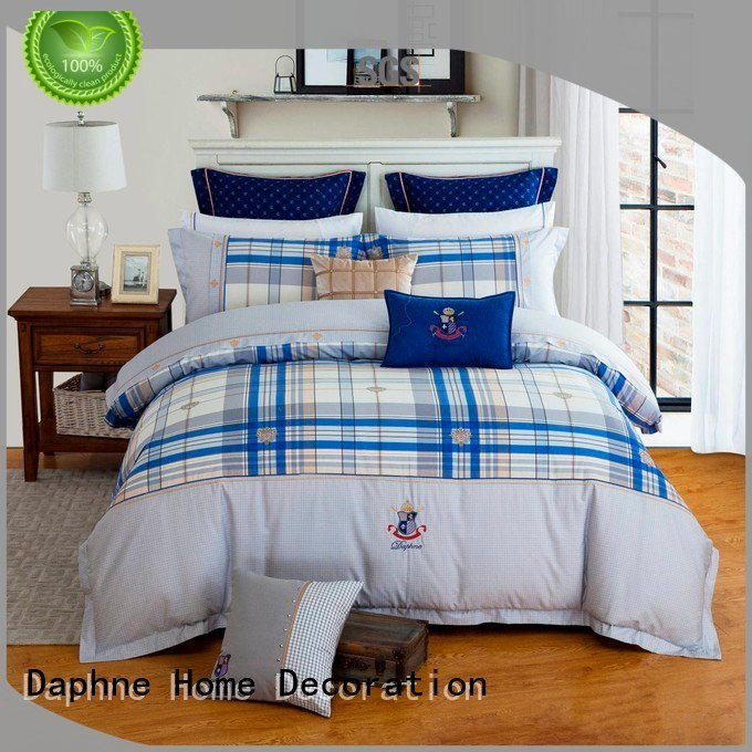 Custom fashionable Cotton Bedding Sets brightly 100 cotton bedding sets