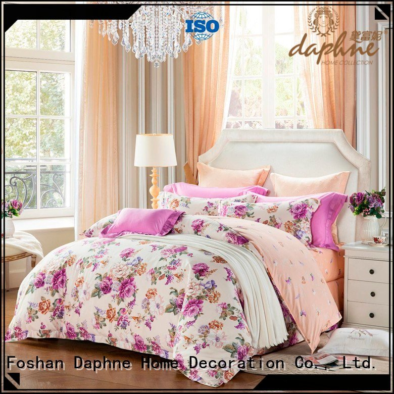 brushed fashionable 100 cotton bedding sets Daphne
