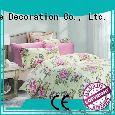 Daphne plaid elegant Cotton Bedding Sets blossom print
