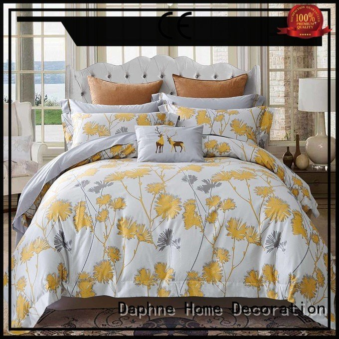 Hot 100 cotton bedding sets embroidery Cotton Bedding Sets comfortable Daphne