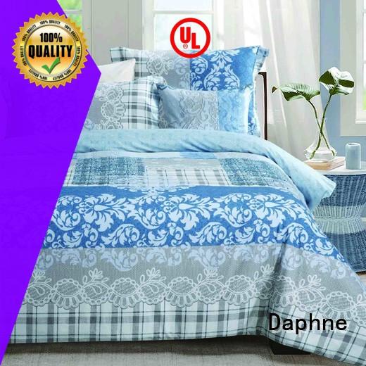 colored quality Daphne 100 cotton bedding sets