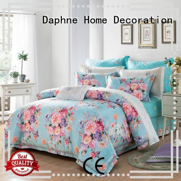 beautiful bedroom jacquard duvet cover king Daphne manufacture