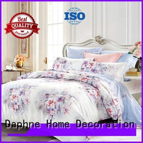 Daphne Brand print mixed jacquard duvet cover king jacquard attractive