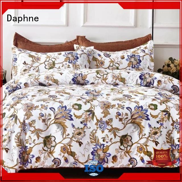 sheet comfortable Daphne Brand microfiber comforter factory