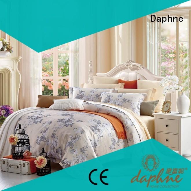 mixed vividly Jacquard Bedding Set lustrous Daphne Brand