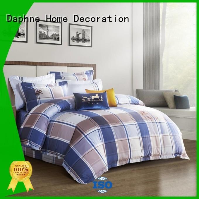 pattern 100 cotton bedding sets printing sheet Daphne Brand